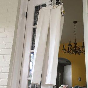 Anne Klein Slim Leg trousers
